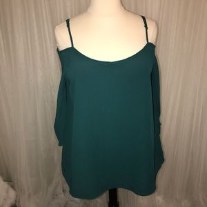 Tops - Hunter Green Top.